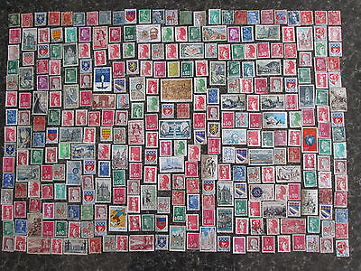 France  stamps 316 x Mn-used:1900 onwards.