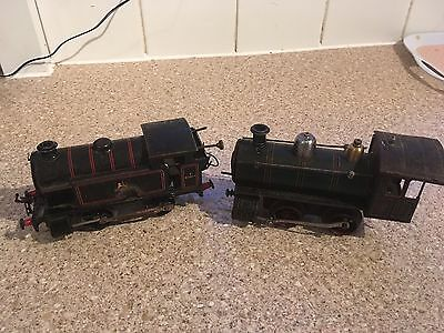Two Early O Gauge Locomotives For Spares And Repairs - one Hornby