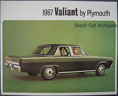 1967 Plymouth Valiant Signet 2 & 4-Door, Valiant 100 2 & 4 Door Dealer Brochure