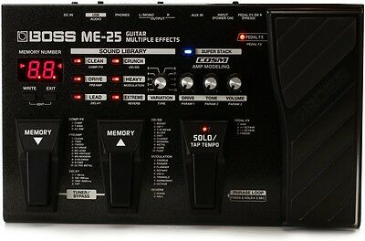 Boss ME-25  Effect Pedal Multi-Effects LIKE BRAND NEW ALL ACCESSORIES