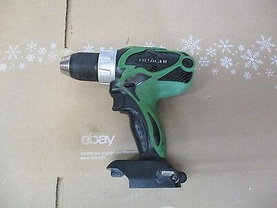 """Hitachi 18V Drill/driver Ds 18Dsal 1/2"""" Cordless Tested Works Bare Tool Only"""