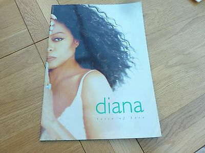 1997 Diana Ross Voice Of Love Large Tour Programme 16 X 11 Inch