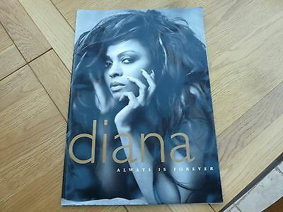 1994 Diana Ross Always Is Forever Large Tour Programme 16 X 11 Inch