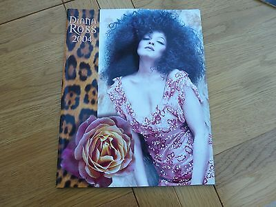 2004 Diana Ross This Is It Tour Programme 12 X 9.5 Inch