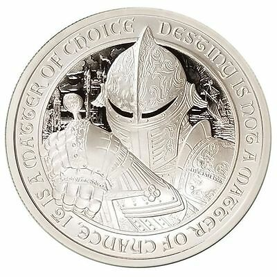Limited 2 oz Destiny Coin Series BU Knights Templar Camelot Lancelot
