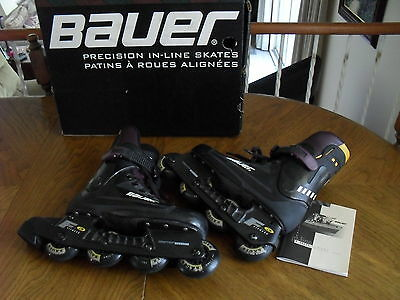 BAUER Precision Fitness 3  Super Light Chassis INLINE SKATES - Size 6D (Canada)