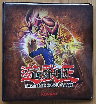 Yu-Gi-Oh! Trading Card Game Collectors Folder & Cards inc Holos Dragons Japanese
