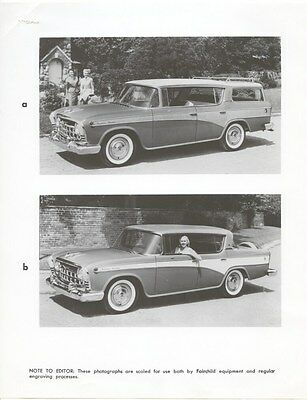 1957 Rambler Cross Country Hardtop Station Wagon ORIGINAL Factory Photo ouc3361