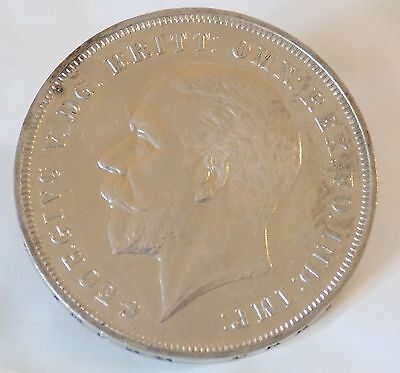 """George V Jubilee Commemorative Coin 1935, """"Rocking Horse"""" Crown (.500 Silver)"""