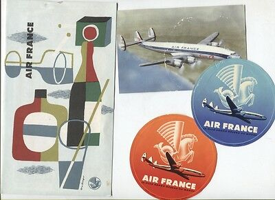 N°5113  /  AIR FRANCE : ensemble de documents divers