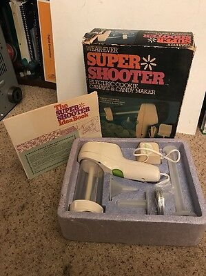 Wear-Ever Super Shooter Electric Cookie Canape & Candy Maker 1-No.70001