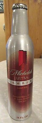 2006 Michelob Ultra Amber Aluminum Bottle Beer Can #500617