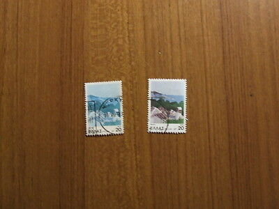 Greek 1979 used stamp with 2 colours missing SG No 1502