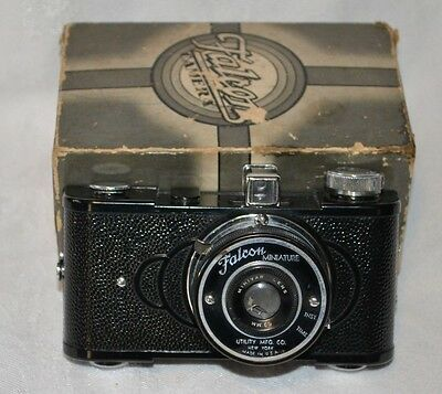 Vintage Falcon Miniature 50mm Minivar Lens Camera