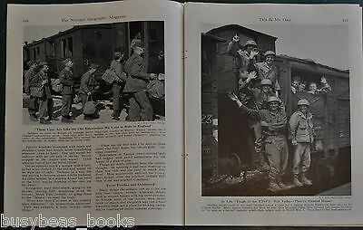 1946 magazine article, returning US Soldiers after WWII, adjusting to postwar US