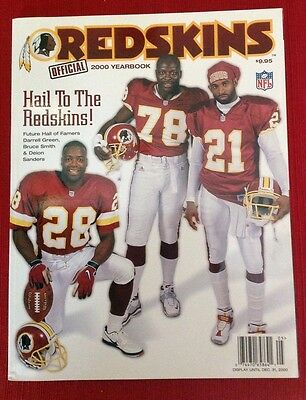 Washington Redskins Official Yearbook 2000: Hail To The Redskins