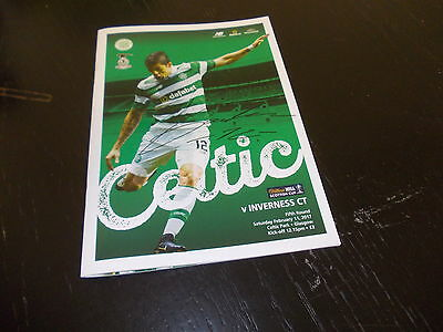 Celtic v Inverness Caley Thistle  11th Feb  2017  Scottish Cup 5th Round