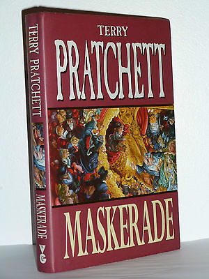 Maskerade By Terry Pratchett, Signed, 1St Edition In Near Mint Cond
