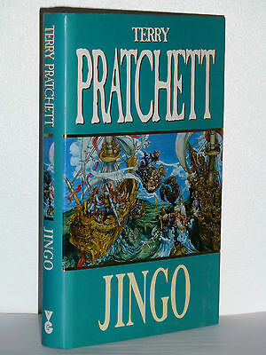 Jingo By Terry Pratchett, Signed, 1St/1St Edition In Excellent Condition