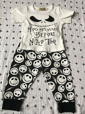 Catpapa Set Baby Boy Or Girl Unisex, Size 80, China, Nightmare Before Nap Time