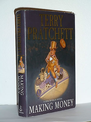 Making Money By Terry Pratchett, Signed, 1St/1St Edition In Good Condition