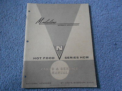 Moduline Hot Food Series Hcm Parts & Service Manual National Vendors Umc