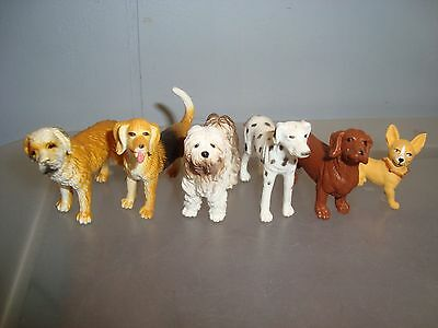 DOGS-Dollhouse Miniature ...lot of 6...free shipping