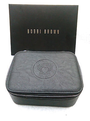 New Bobbi Brown Eco Leather Cosmetic Beauty Makeup Case Limited Edition
