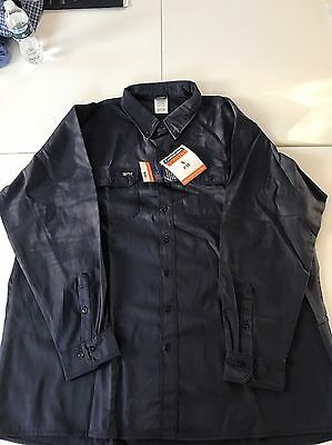 LAPCO Flame Resistant Long Sleeve Work Shirt 4XL Long