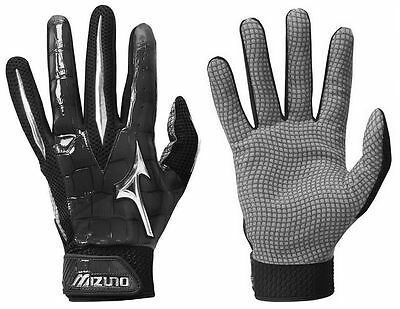 Mizuno Swagger Black XXL Adult Mens Baseball/Softball Batting Gloves Pair