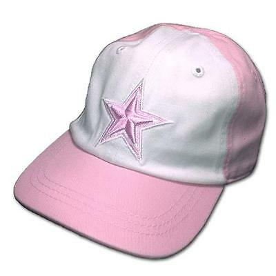 Dallas Cowboys Infant Girl Pink Annie Cap Hat (FREE SHIPPING) 6 mo to 18 mo