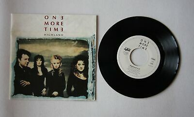 One More Time Highland Ger 7in 1992 Swedish Pop Folk Synthpop