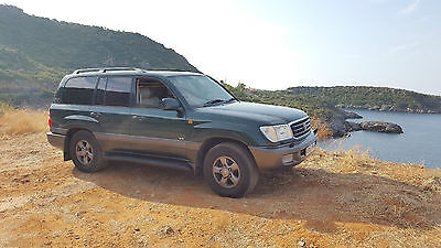 1998 TOYOTA LANDCRUISER AMAZON VX 4.2 td 1hdfte leathers ac very clean