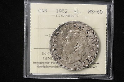 1951 Canada. 1$  Dollar. Voyageur. ICCS Graded MS-60  (XDS738)