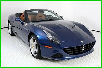2016 Ferrari California T 2016 FERRARI CALIFORNIA T, TOUR DE FRANCE BLUE OVER CUOIO, 2,494 MILES