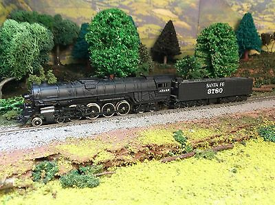 N Scale Santa Fe 4-8-4 Steam Locomotive Lot C