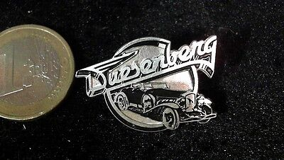 Brosche Brooch kein Pin Badge Duesenberg Auto Motor Company Retro 30mm 21mm