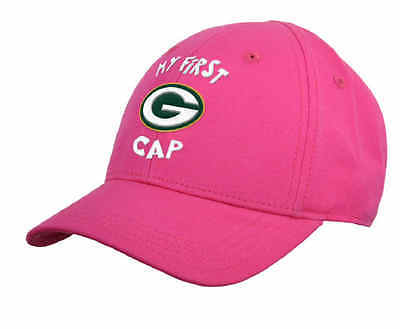 Green Bay Packers Infant Girl Pink My First Cap (FREE SHIPPING) Size 0-12 months