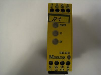 Moeller Esr4-No-21 Two Channel Safety Relay
