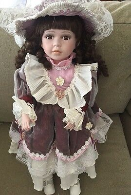 Porcelain Doll In Great Condition