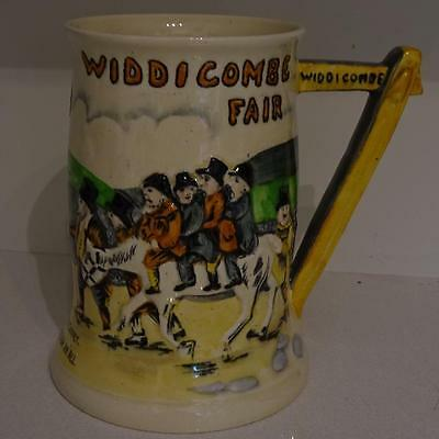 Vintage Crown Devon Musical Mug - Widdicombe Fair - Good working Order