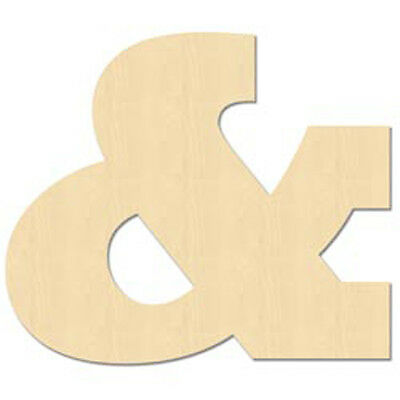 & - Baltic Birch University Font Letters & Numbers 5""