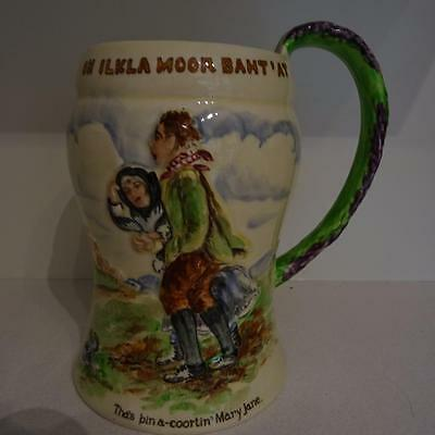 "Vintage Crown Devon Musical Mug - ""Coortin Mary Jane"" - Good working Order"