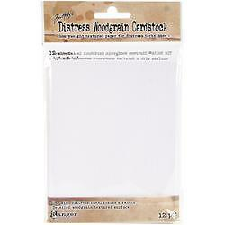 "4.25""X5.5"" - Tim Holtz Distress Cardstock 12 Sheets"