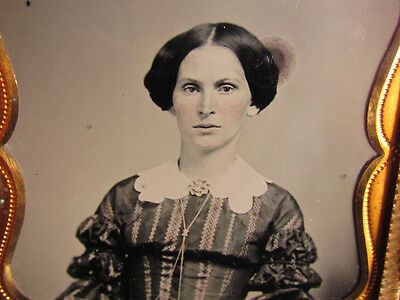 victorian woman ambrotype photograph