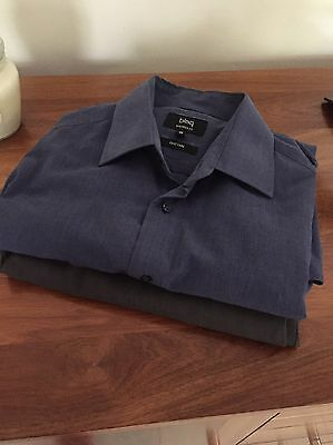 Men's 87r Carters Pants And Large Blaq Business Shirt