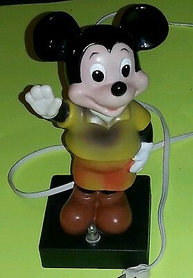 vintage mickey mouse lamp model MM-I
