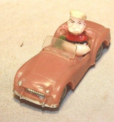 1953-55 Triumph TR-2 with Popeye Character Marx Toys Made in Hong Kong