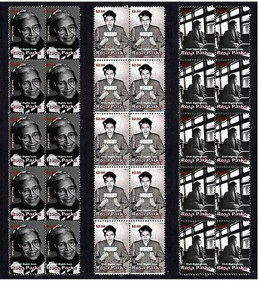 Rosa Parks Civil Rights Icon Set Of 3 Stamp Strips 2