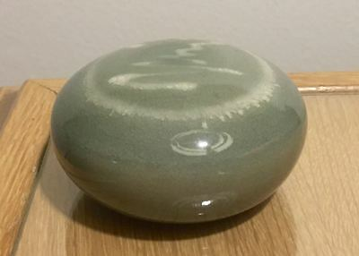 Vivika and Otto Heino Signed Studio Pottery Paperweight Paper Weight